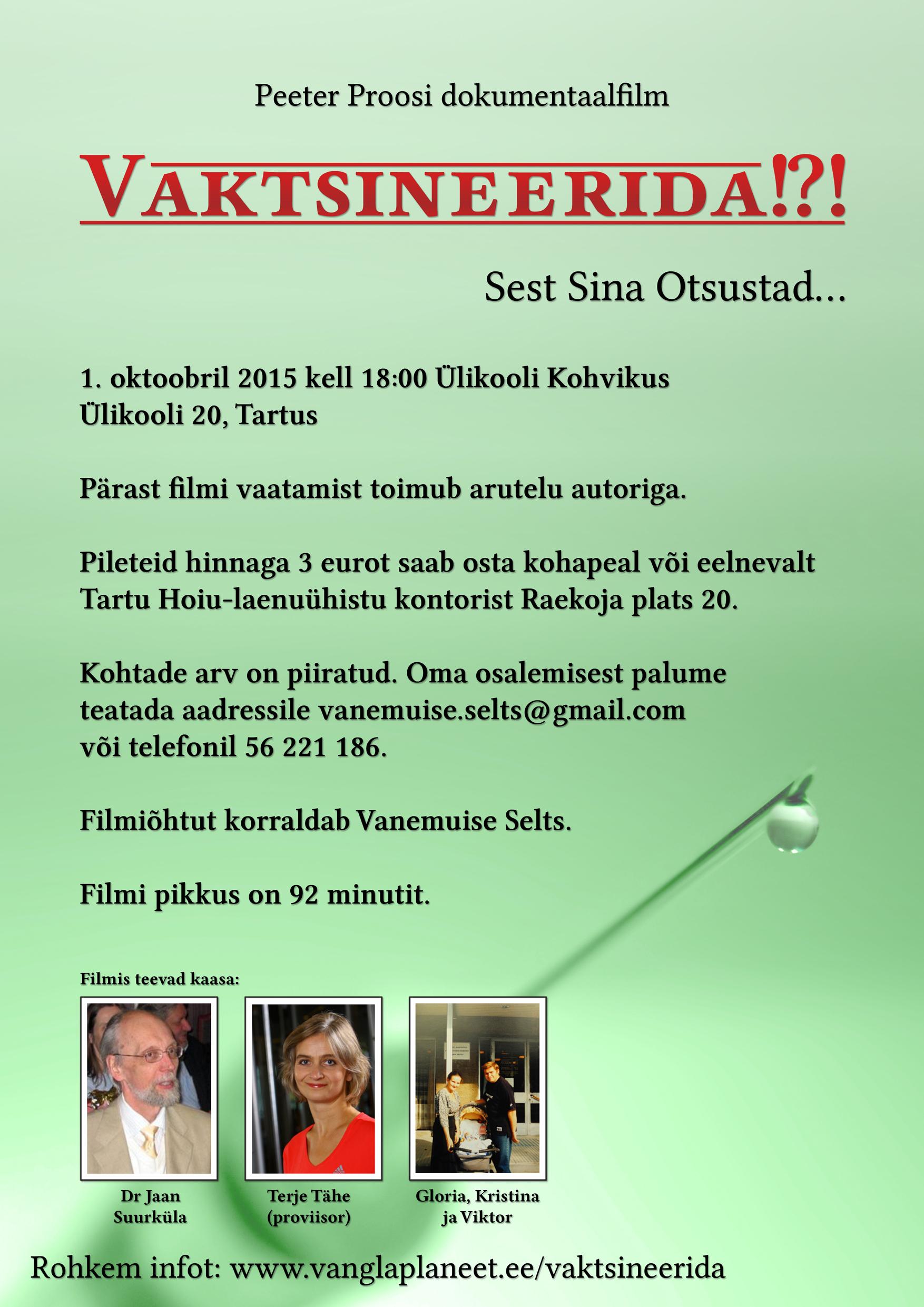 Plakat Tartu