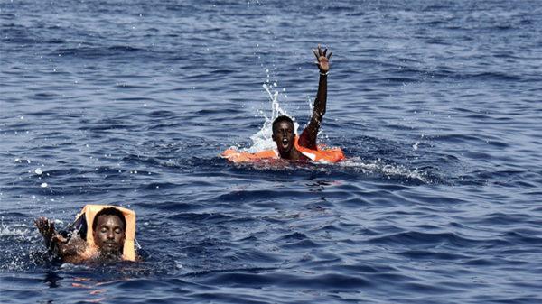 Videolavastus põgeniku uppumisest