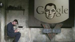 """Google varastas Orwellilt """"teleekraani"""" idee"""