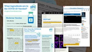 Connecticuti valitsus teavitab salaja tervishoiutöötajaid, et vaktsiinid on surmavad, kuid varjab teavet avalikkuse eest